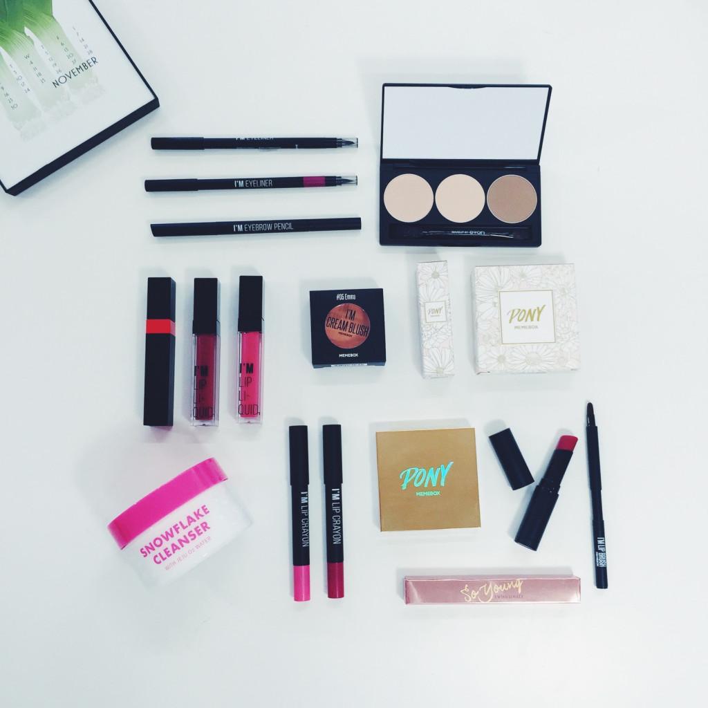 Memebox Vault Box K-beauty makeup