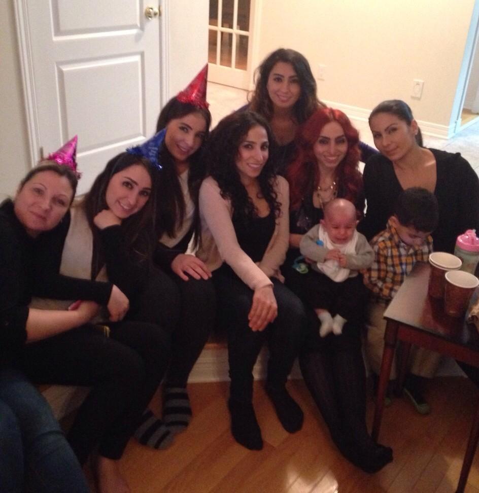 The gang at NYE 2014