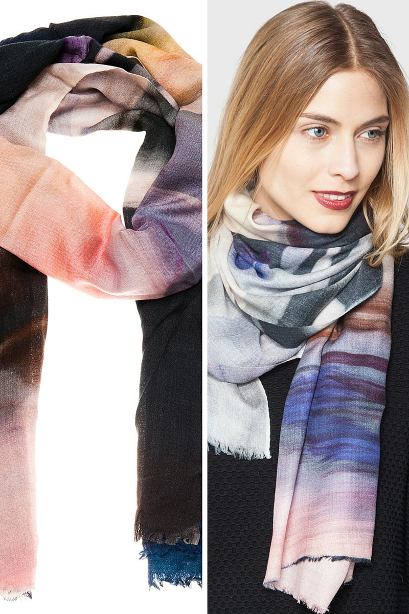 Cave souffle scarf