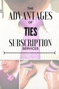 Advantages of tie subscription services