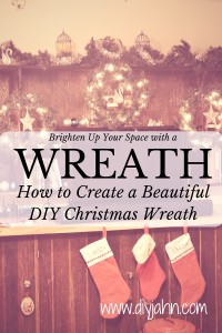 Brighten Up Your Space with a DIY Christmas Wreath