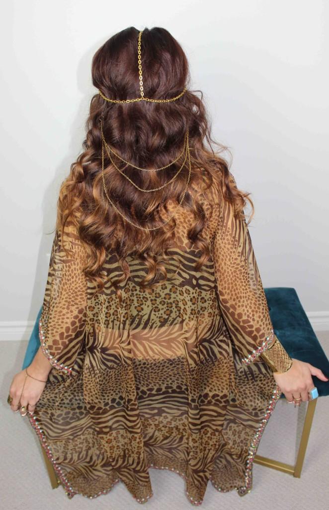 Hair chain placement