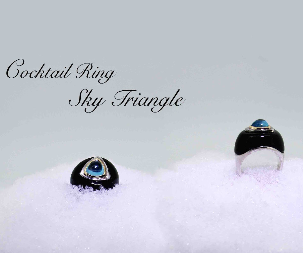 Sky Cocktail Ring - Fun cocktail jewellery