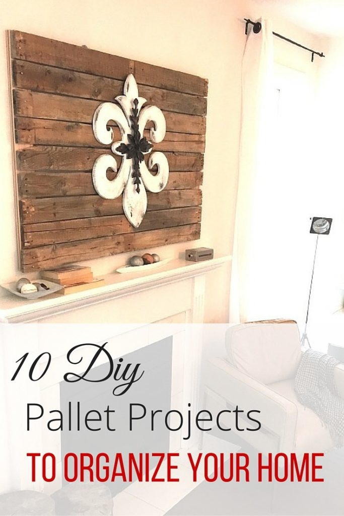 10 DIY pallet projects to organize your home