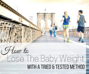 How to Lose the Baby Weight FB