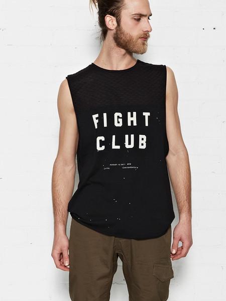 Nana Judy Fight Club cut off tank