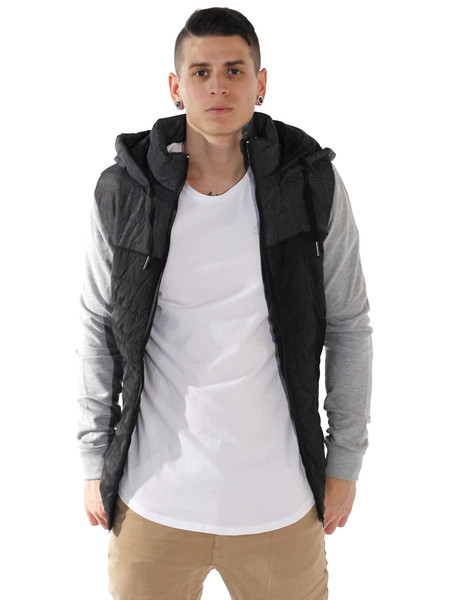 St Goliath Callout jacket in black and grey