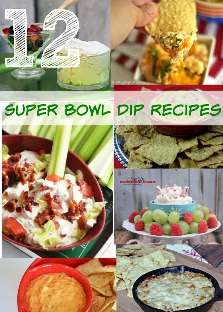 12 Superbowl dip recipes