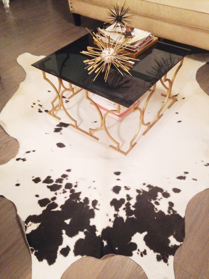 Black and white - cowhide rugs