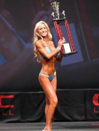 Kim championship thanks to fitness model workout