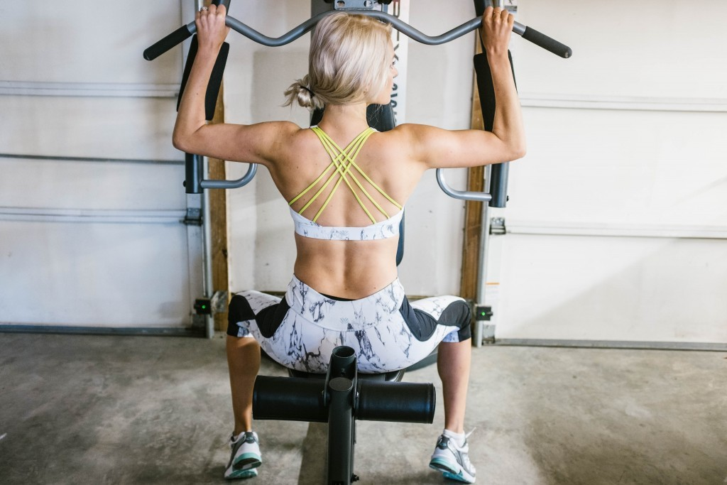 Like the Yogurt workout gear marbled look leggings