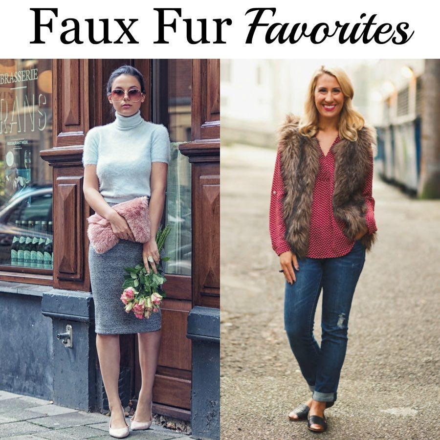 Faux fur favourites