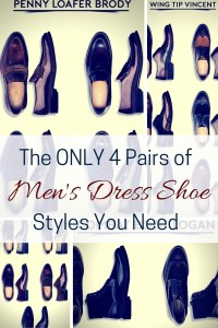 The ONLY 4 Pairs of Men's Dress Shoe Styles You Need