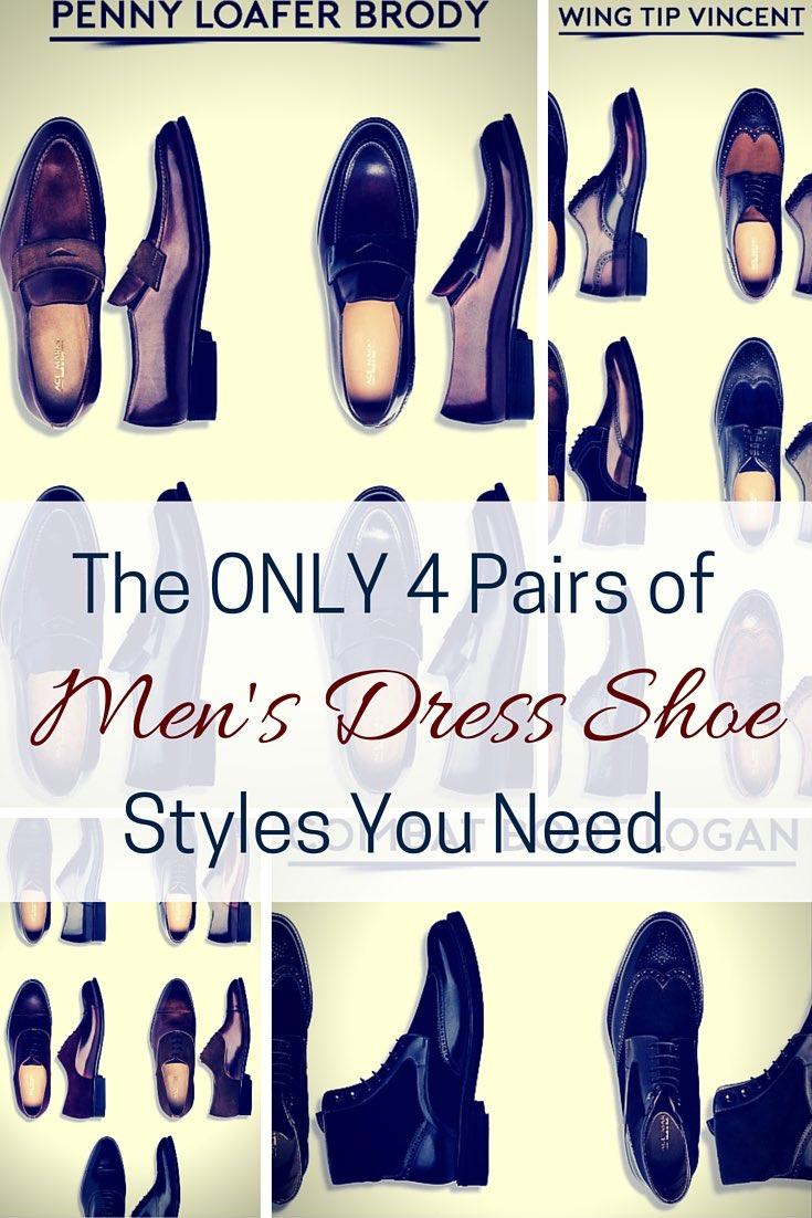Mens dress shoe styles
