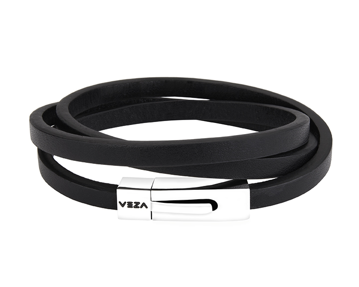 Veza Bands leather wrap bracelet