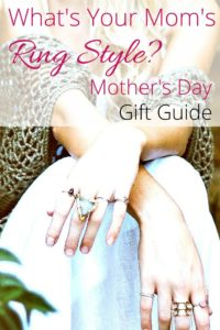 6 Hottest Mother's Day Rings Based on her Style + Linkup