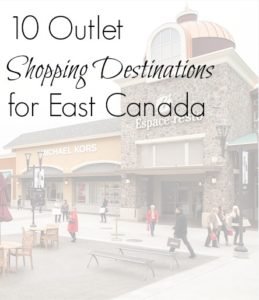 Outlet shopping stores
