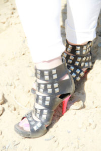 7 Easy Steps to DIY Pink Studded Heels