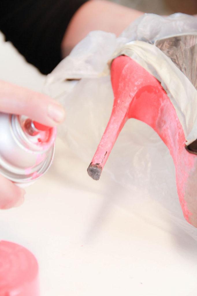 Studded heels step 7, DIY studded boots, Studded ankle boots, Studded boots outfit, Black studded boots, Givenchy studded boots, Studded boots street style