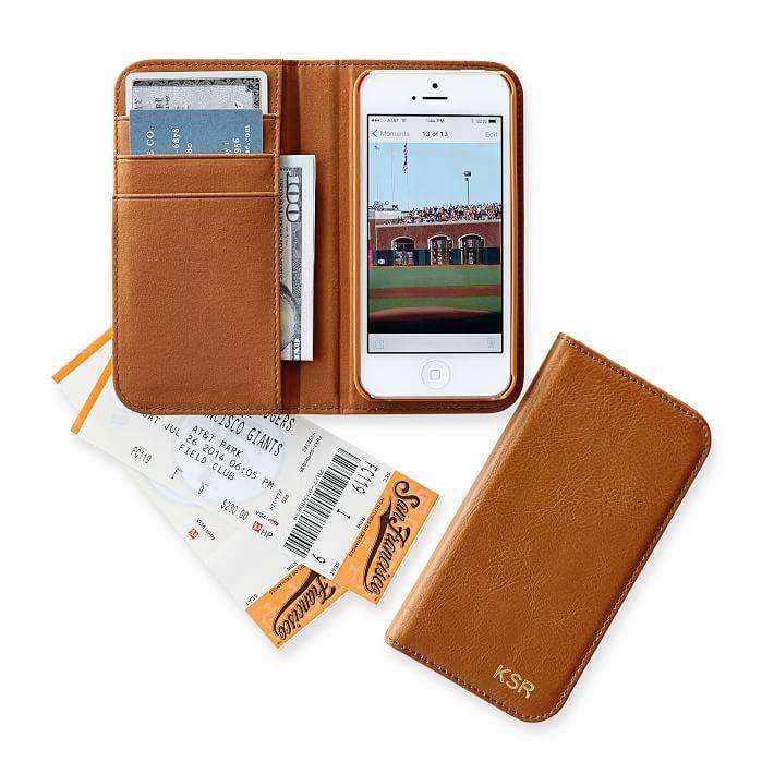 Graham leather iPhone case