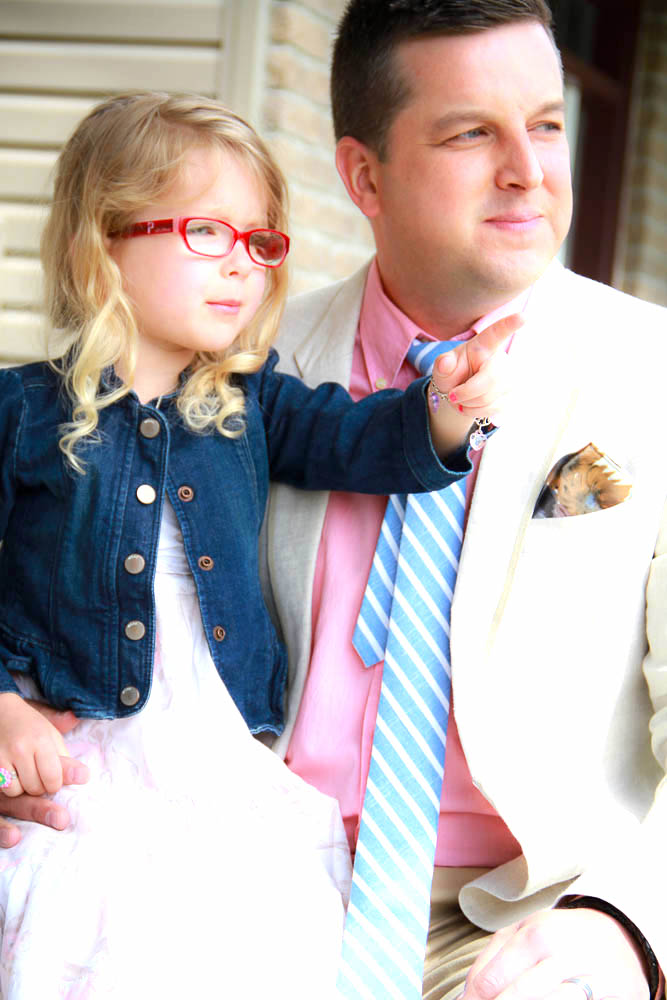 Tie Fix striped blue tie