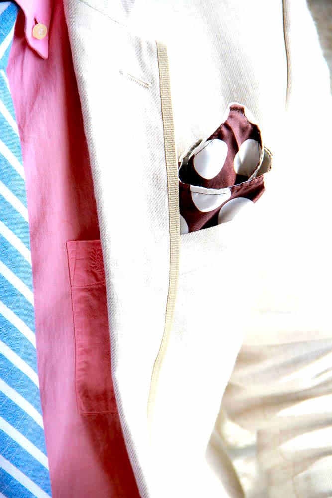 Reversible pocket square side 2