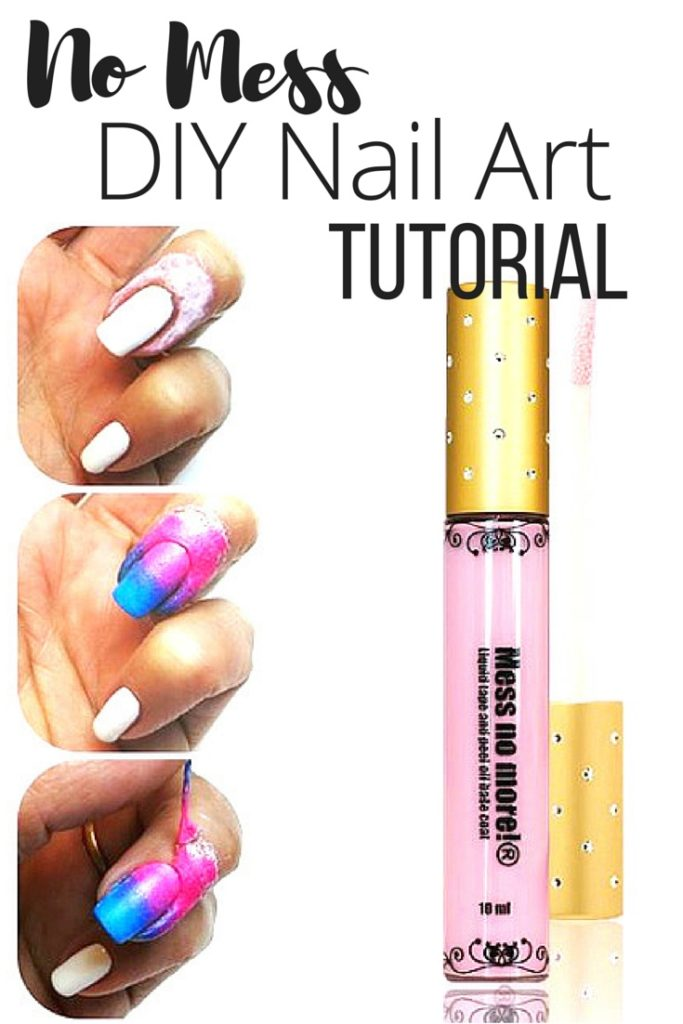 Mess Free DIY Nail Art Tutorial – The Wardrobe Stylist