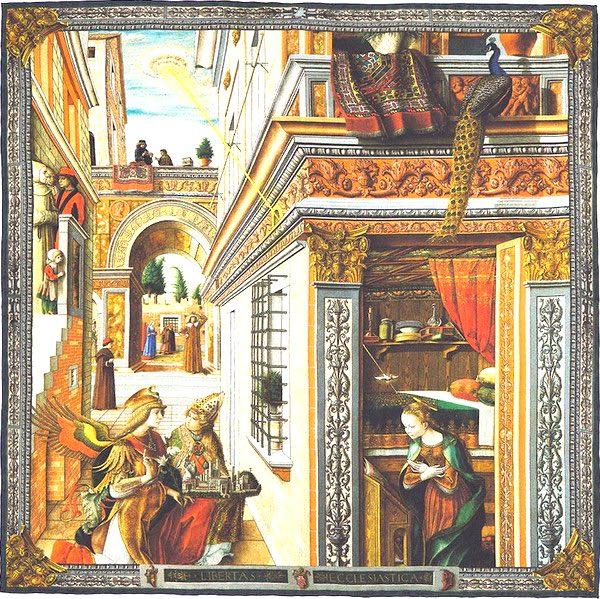 Crivelli St-Emidius pocket square