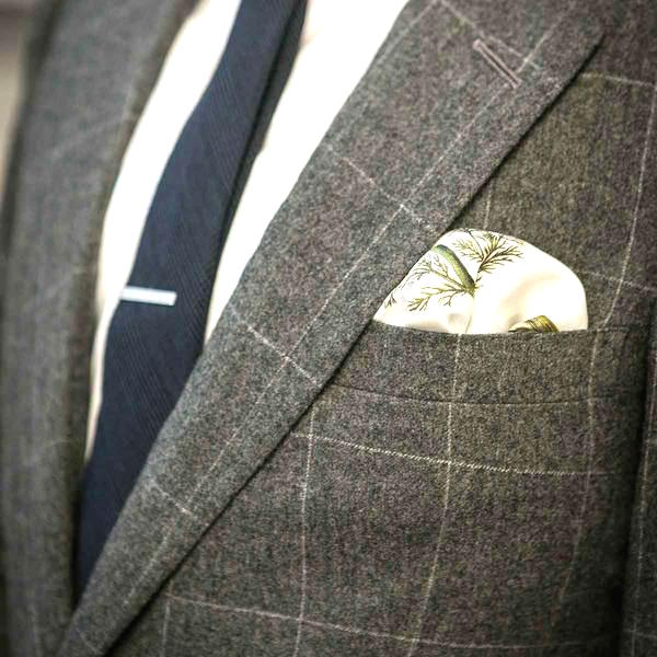 The puff fold pocket square