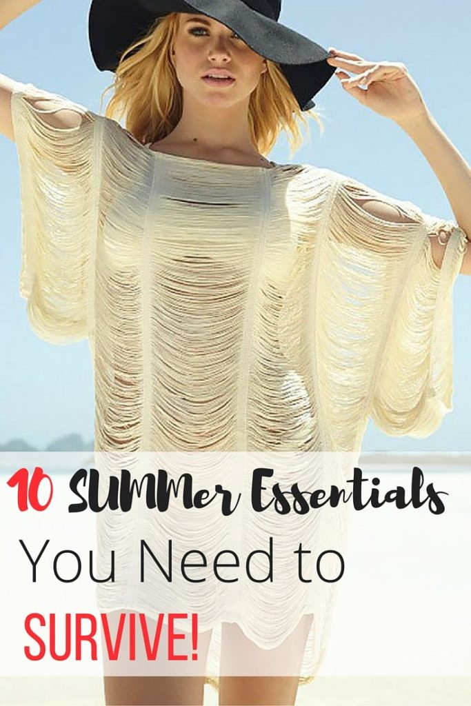 Summer Essentials You Need - Pin