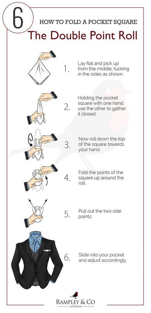 The double point roll fold guide