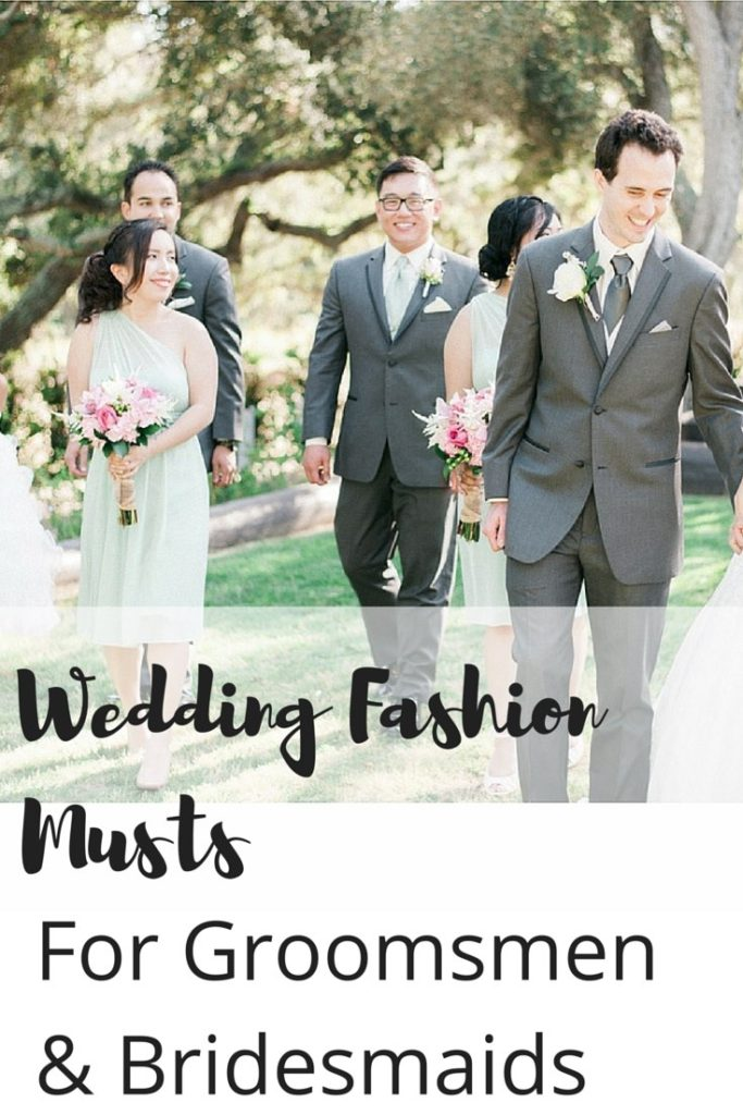 Wedding Fashion Musts -Pin