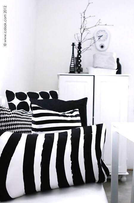 Zebra cushions