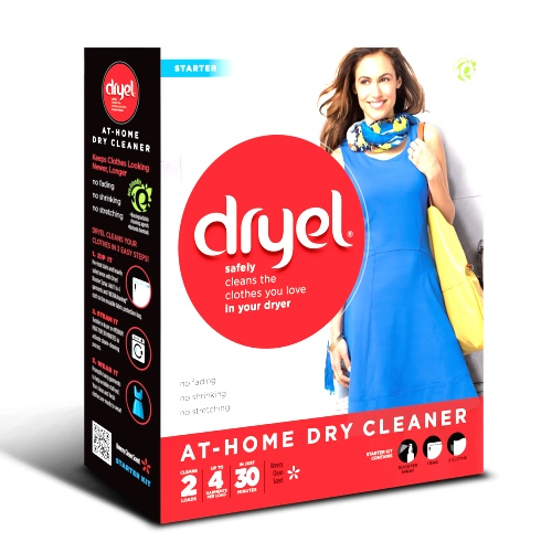 Dryel at-home dry cleaning kit