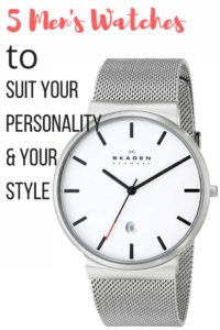 5 Mens Watches to Suit Your Outfit & Personality + Linkup