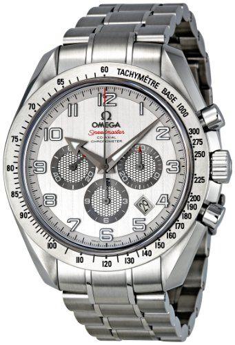 Masculine silver watch