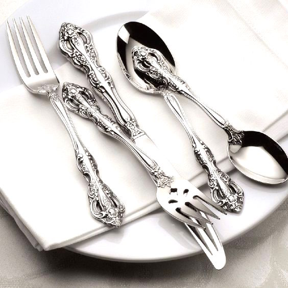 Silverware for high tea time
