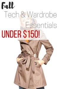 Fall Tech & Wardrobe Essentials Under $150