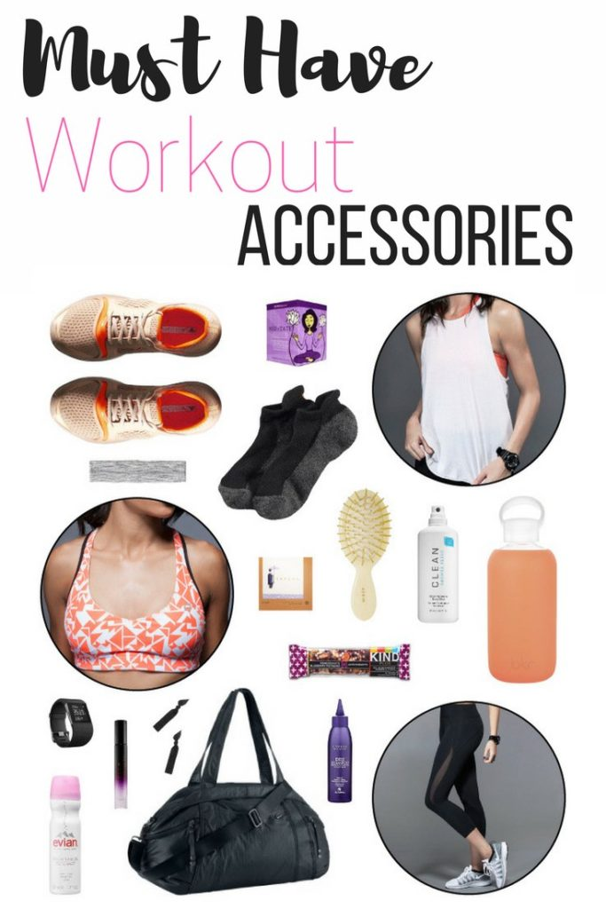 Must Have Workout Accessories - Pin