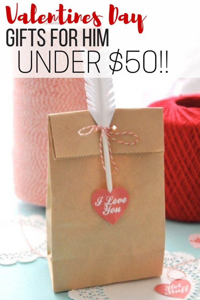 Awesome Valentines Day gifts for men, gifts for guys, gifts for him under $50
