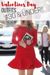 Sexy Valentines Day Outfits For $30 or Less