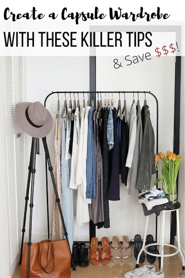 Capsule Wardrobe Tips, reduce wardrobe, minimize wardrobe, upcycle_pin