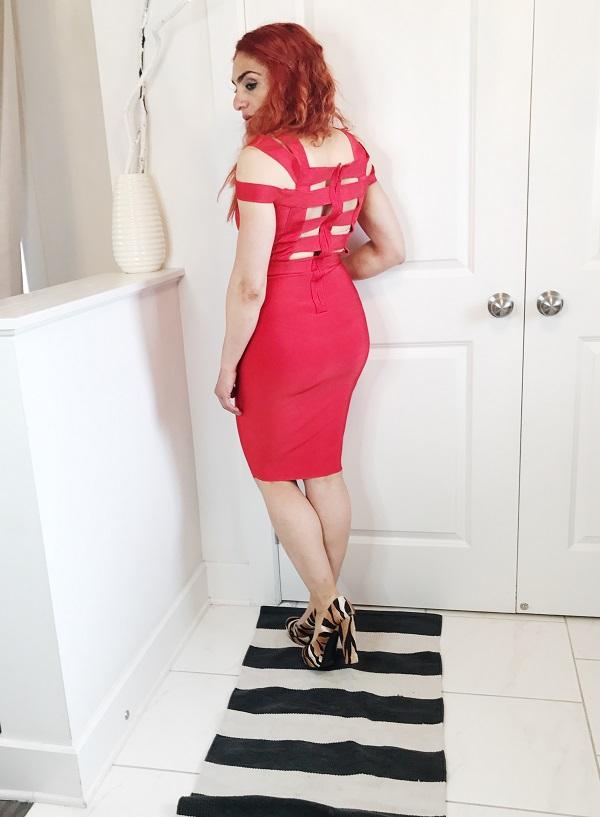 Red dress, bodycon dress, summer outfits, summer dress