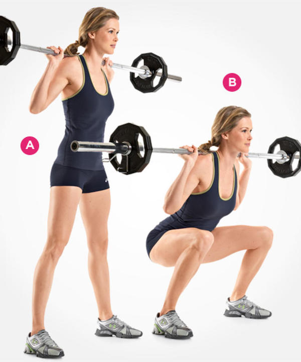 Squat Leg Workouts Exercises For Women