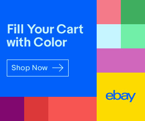 eBay banner, eBay sales