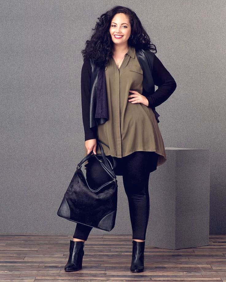 Petite curvy fashion, Fashion outfits, Curvy fashion for women, Casual curvy fashion, edgy fashion style