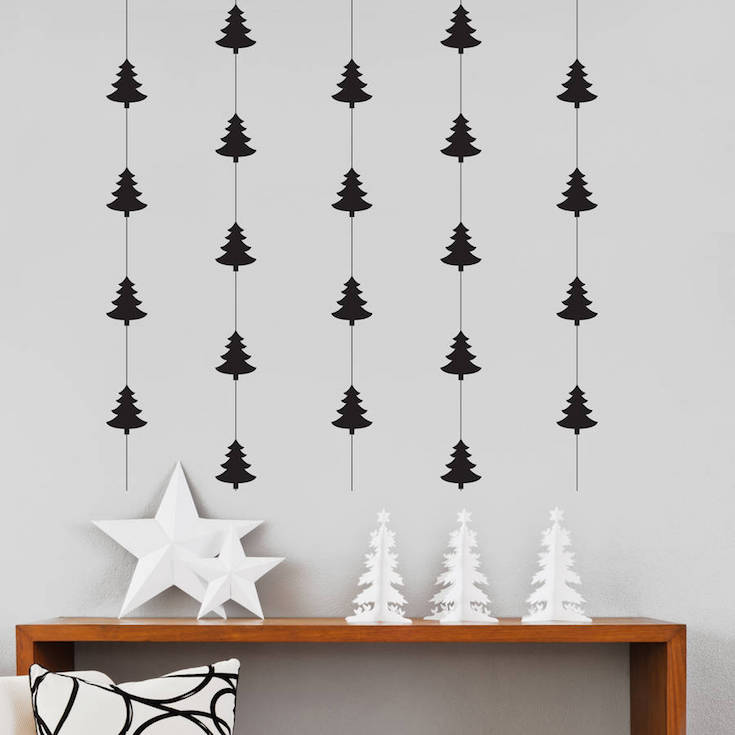 Indoor christmas decorations checklist the wardrobe stylist for Cheap xmas decorations