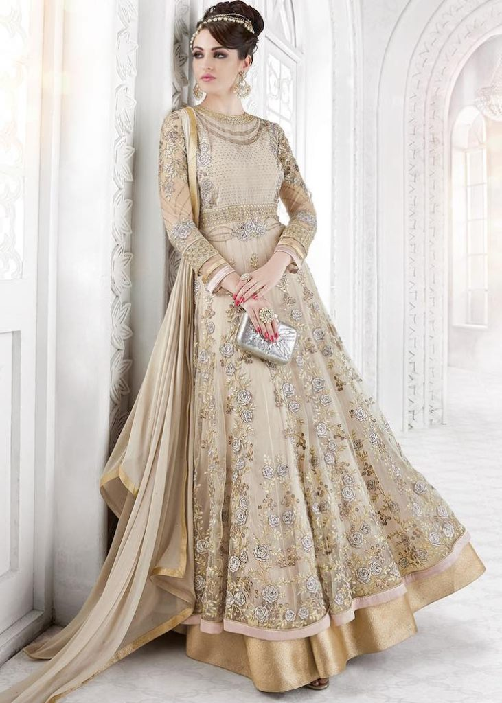 Beige gold anarkali, Anarkali suits, Simple anarkali, Bridal anarkali, Bridesmaid anarkali, Anarkali dress, Lehenga anarkali, Wedding anarkali, Jacket anarkali