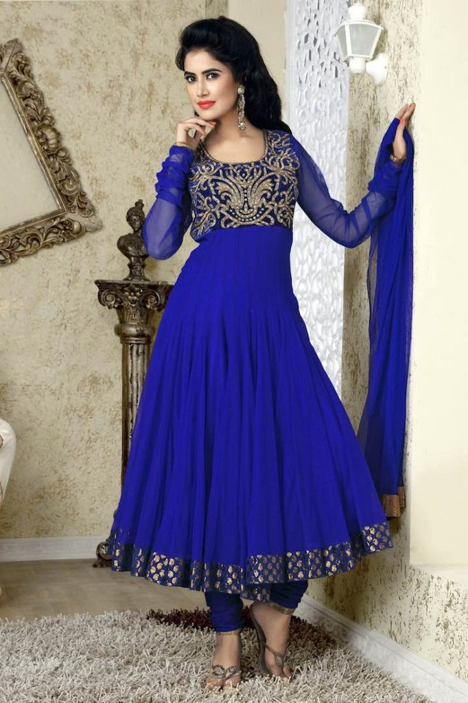 Blue gold anarkali, Anarkali suits, Simple anarkali, Bridal anarkali, Bridesmaid anarkali, Anarkali dress, Lehenga anarkali, Wedding anarkali, Jacket anarkali