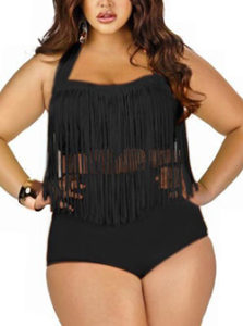plus size women swimwear